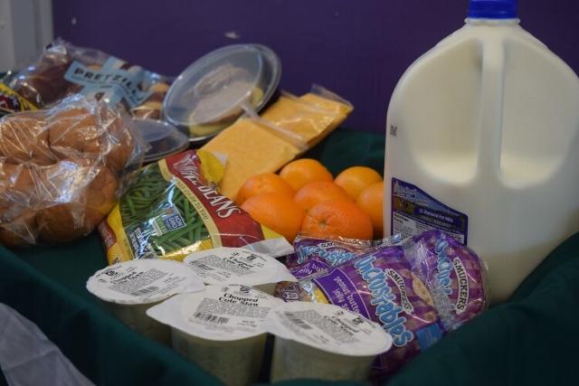 Food distribution Friday